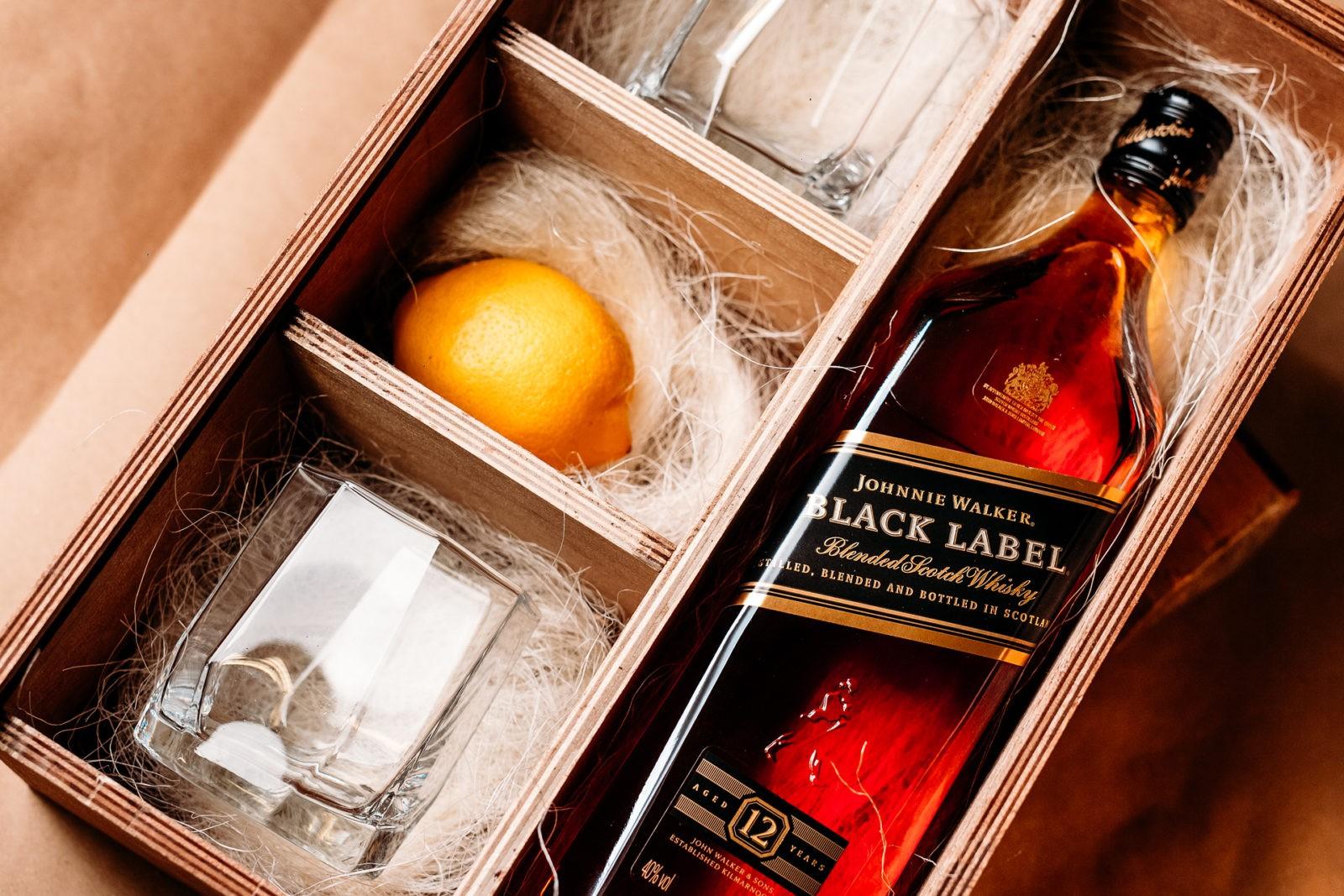 Подарочная коробка для виски своими руками 80