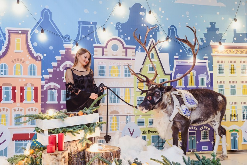Новогоднее В2В мероприятие для Crowne Plaza St.Petersburg Airport